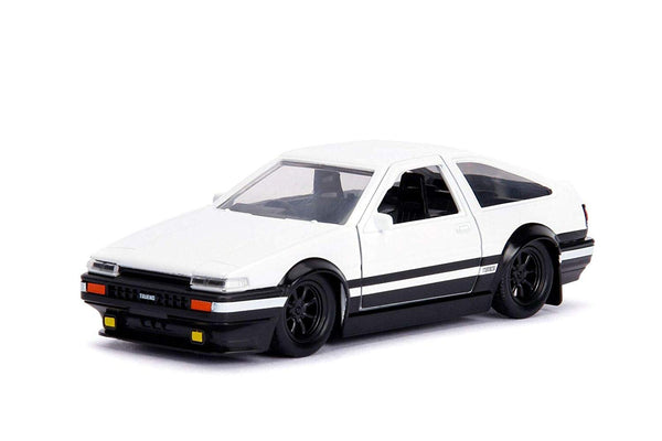 Initial D First Stage - Toyota Trueno (AE86) (Black/White)
