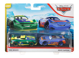 Disney Pixar Cars- Eric Braker and Barry DePedal 2-Pack Toy Racers