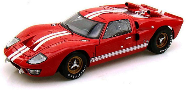 Shelby Collectibles 1966 Ford GT-40 MK II Red 1:18 Scale