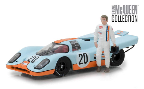 Steve McQueen Collection - Gulf Porsche 917K with Figure