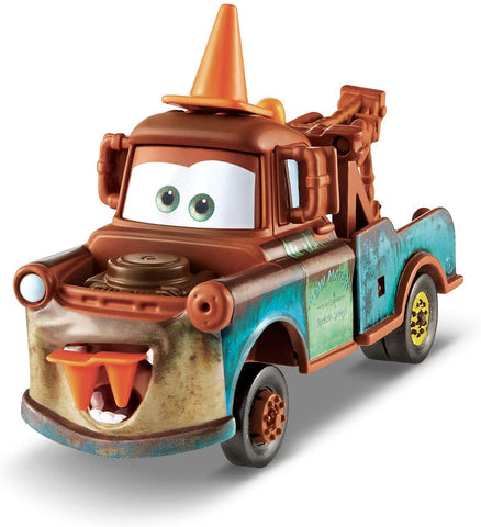 Disney Pixar Cars Deluxe Cone Teeth Mater