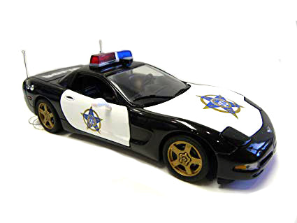 Franklin Mint 1999 Corvette Police Car