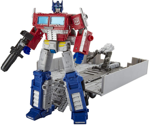 Transformers Generations War for Cybertron Earthrise Leader Optimus Prime