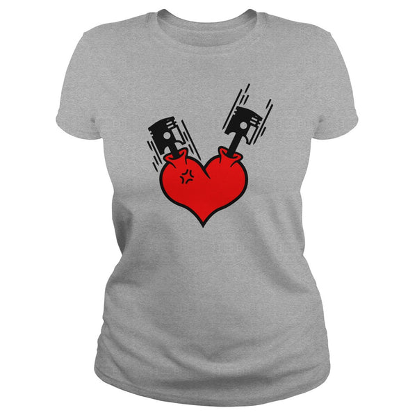 Petersen Women's Tee - Heart Beats