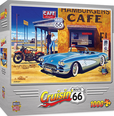 Bomber Command Cafe 1000pc Puzzle