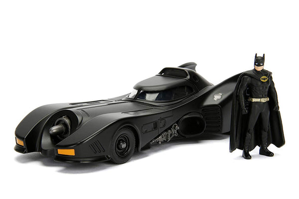 Jada Build N'Collect - Batmobile & Batman Figure 1:24 Scale