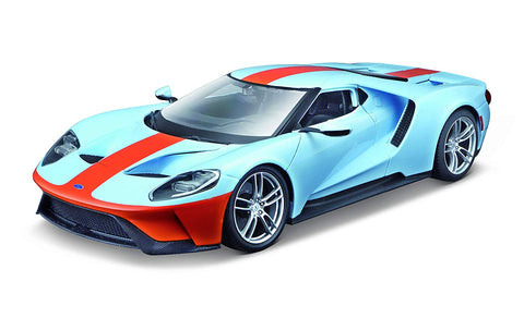 Maisto Special Edition 2017 Ford GT Gulf Blue No # 1:18 Scale