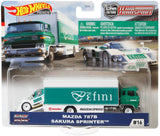 Hot Wheels Team Transport- Mazda 787B Sakura Sprinter