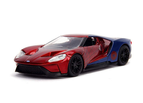 Jada- 2017 Ford GT - Spider-Man Theme 1:32 Scale
