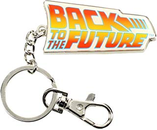 Back To The Future Keychain - Logo