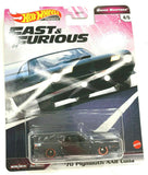 Hot Wheels- Fast & Furious Quick Shifters- 70 Plymouth AAR Cuda 1:64 Scale