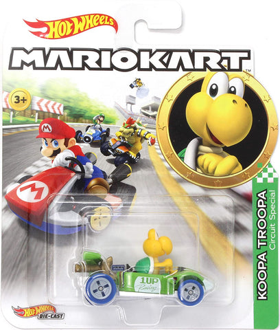 Hot Wheels 1:64 Mario Kart Replicas