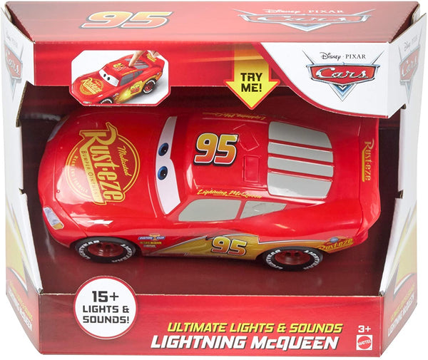 Disney Cars Toys Disney and Pixar Cars Ultimate Lights & Sounds Lightning McQueen