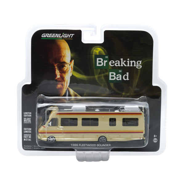 GreenLight Breaking Bad 1986 Fleetwood Bounder RV 1:64 Scale