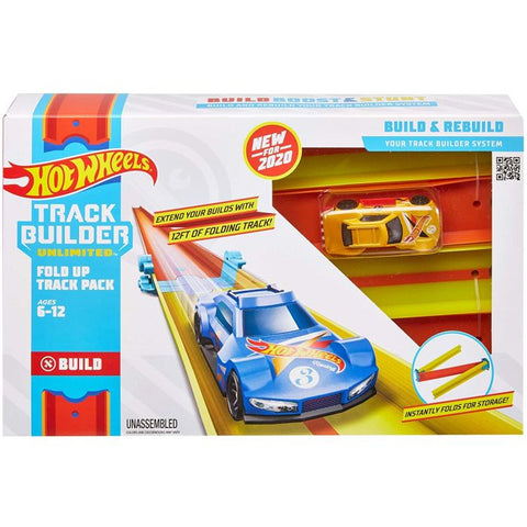 Hot Wheels® Track Builder Unlimited Fold Up Track Pack