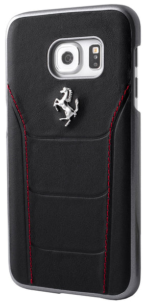 Ferrari 488 Hard Case Leather for Galaxy S7