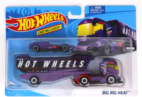 Hot Wheels Super Rigs Vehicle 2-Pack (Styles May Vary)