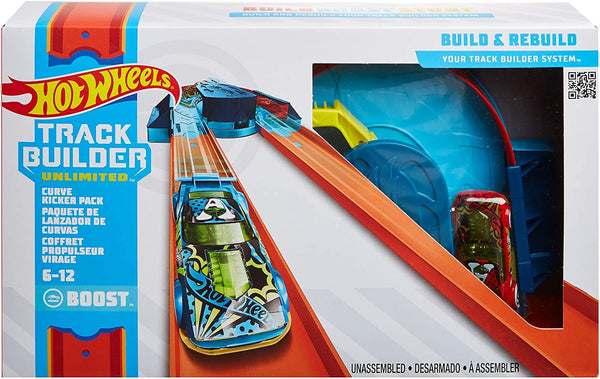 Hot Wheels Track Builder Pack Curve Kicker Pack
