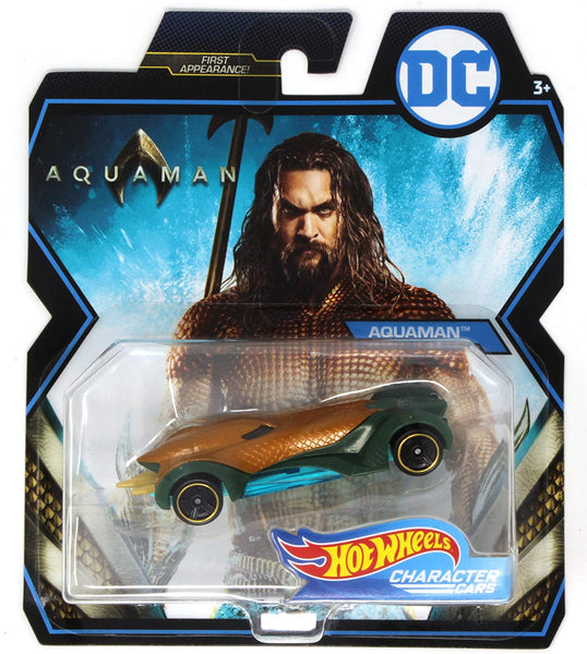 Hot Wheels Character Cars DC Aquaman 1:64 Scale