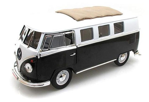 1962 Volkswagen Microbus with Sliding Fabric Sunroof