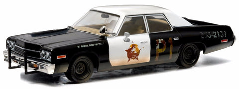 "Blues Brothers 1974 Dodge Monaco ""Bluesmobile"" Vehicle"
