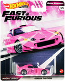 Hot Wheels- Fast & Furious Quick Shifters- Honda S2000 1:64 Scale