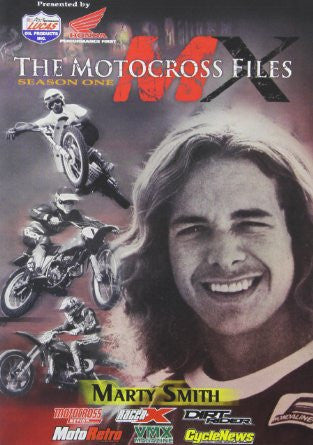 MX Files Marty Smith DVD