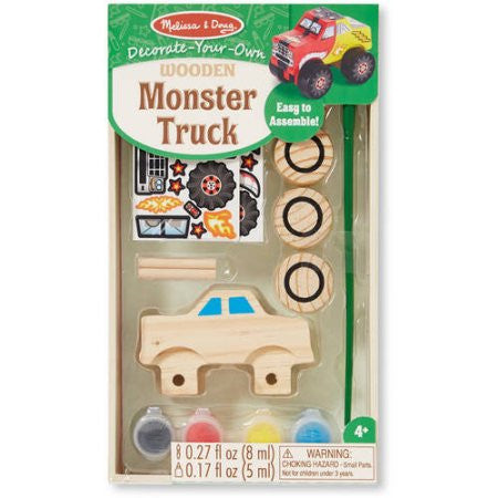 Melissa & Doug Decorate-Your-Own Monster Truck