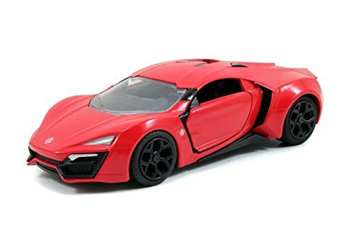 Fast & Furious 7 Red Lykan Hypersport 1:32