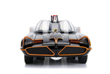 1966 Batmobile with Working Lights and Batman and Robin Diecast Figures