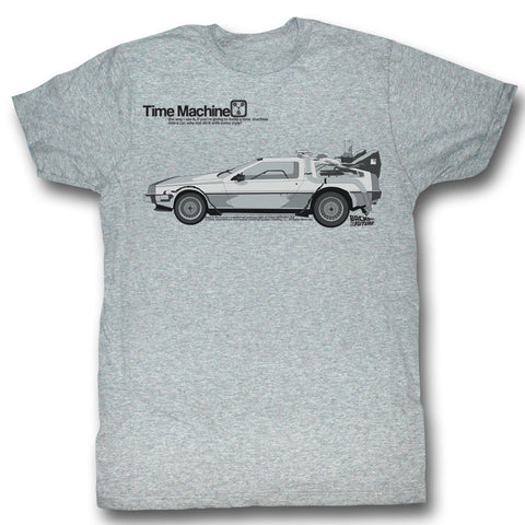 Back To The Future Tee - Delorean