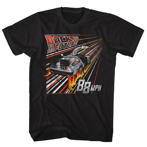 Back to the Future - Streak To The Future Tee