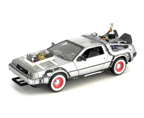 Back to the Future 3 DeLorean 1:24 scale