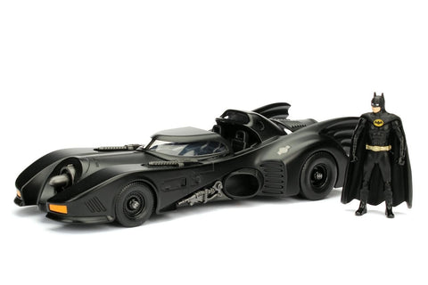 1989 Batmobile & Batman 1:24 Scale