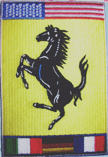 Ferrari Cacallino Rampante Embroidered Patch