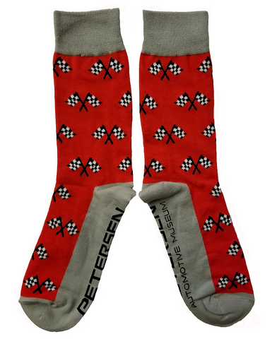Petersen Socks - Checkered Flags