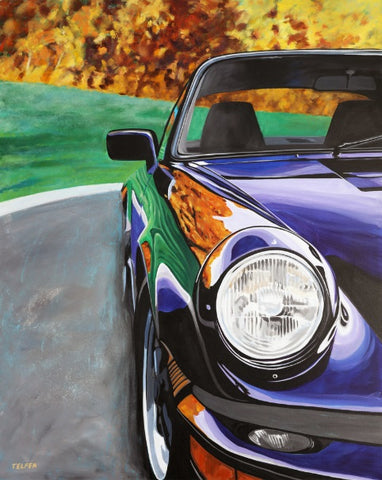 PORSCHE 911 CARRERA LIMITED EDITION PRINT