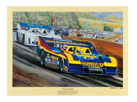 Can Am Thunder- Hector Cademartori Print