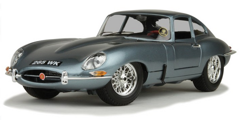 1961 Jaguar E-Type Cabriolet Coupe 1:18 Scale