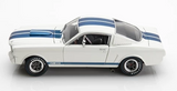 SHELBY COLLECTIBLES 1:18 1966 Shelby GT 350 with Blue Stripes