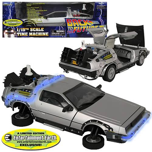 EE Exclusive Back to the Future II DeLorean Vehicle Case