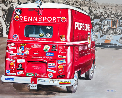 PORSCHE RENNSPORT STICKERMANIA