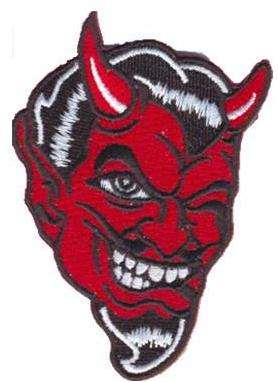 Winking Devil Patch