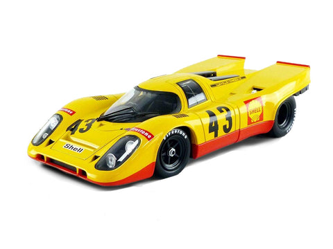 Porsche 917K Shell #43 Laine/Van Lennep 5th Place 1970 1000km Spa 1:18 Scale