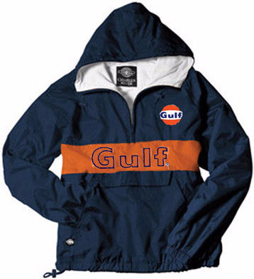 Gulf Dark Royal Blue Waterproof Windbreaker