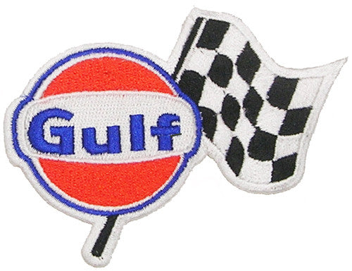 Gulf Racing Embroidered Patch