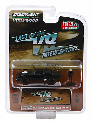 Greenlight 1:64 Hollywood - The Last of the V8 Interceptors - 1973 Ford Falcon XB with Figure - MiJo Exclusives