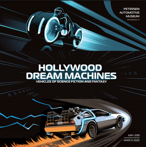 Hollywood Dream Machines Exhibit Book