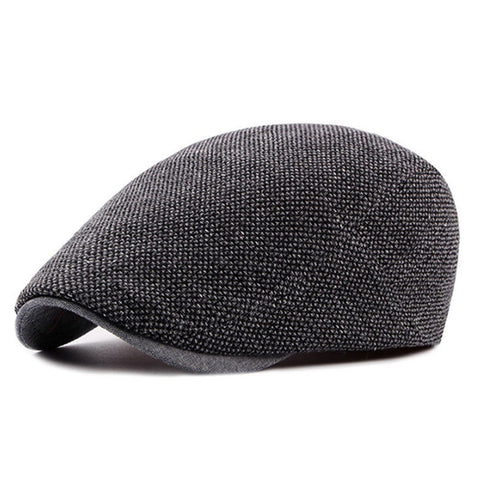 Driving Cap - Herringbone