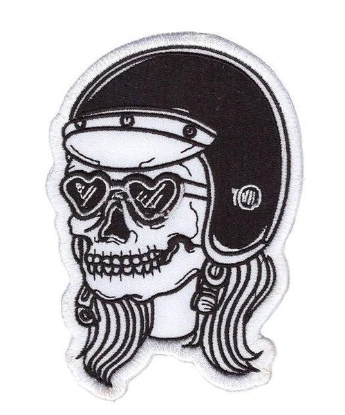 Deadly Female Rider Patch